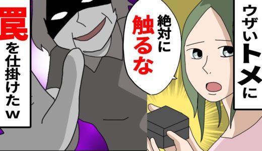 【漫画】泥トメにトラップを仕掛けたw私「コレ高かったんで、触らないでください」→トメ「触らないわよ」【スカッとする話】